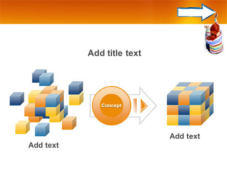 Direction PowerPoint Template Slide 17