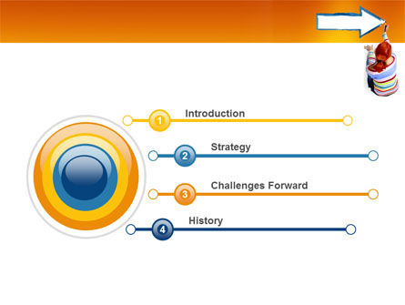 Direction PowerPoint Template, Slide 3, 03210, Consulting — PoweredTemplate.com