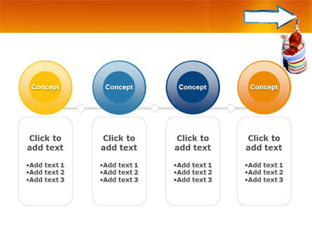 Direction PowerPoint Template Slide 5