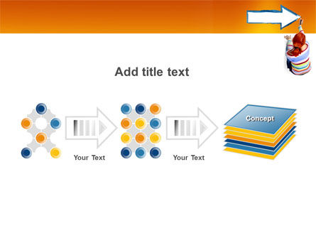 Direction PowerPoint Template Slide 9