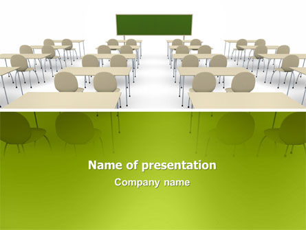 Education & Training: School Class PowerPoint Template #03212