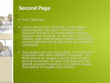 School Class PowerPoint Template, Slide 2, 03212, Education & Training — PoweredTemplate.com