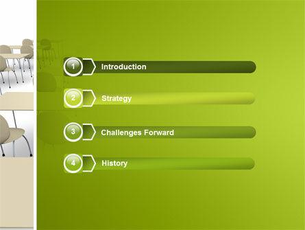 School Class PowerPoint Template, Slide 3, 03212, Education & Training — PoweredTemplate.com