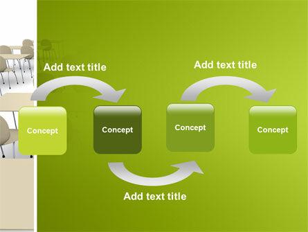 School Class PowerPoint Template, Slide 4, 03212, Education & Training — PoweredTemplate.com