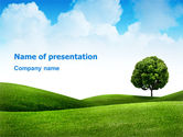 Nature & Environment: Meadow PowerPoint Template #03213