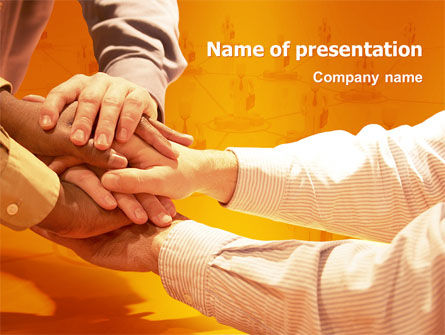 Business: Unity PowerPoint Template #03214