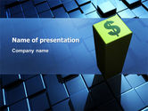 Financial/Accounting: Dollar Rate PowerPoint Template #03215