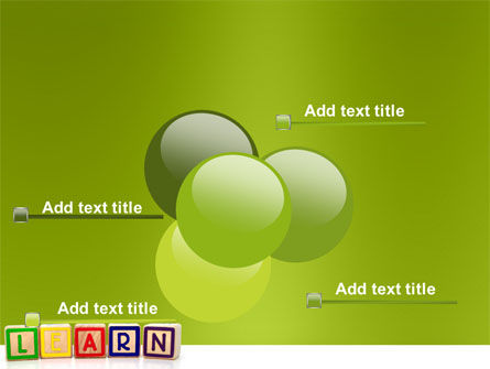 Learning Cubes PowerPoint Template Slide 10
