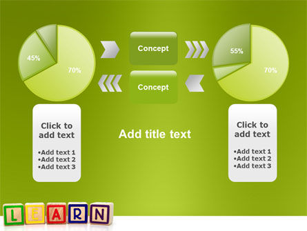 Learning Cubes PowerPoint Template Slide 11