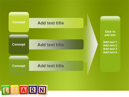 Learning Cubes PowerPoint Template Slide 12