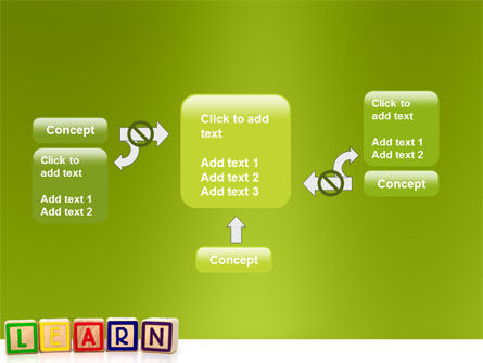 Learning Cubes PowerPoint Template Slide 13