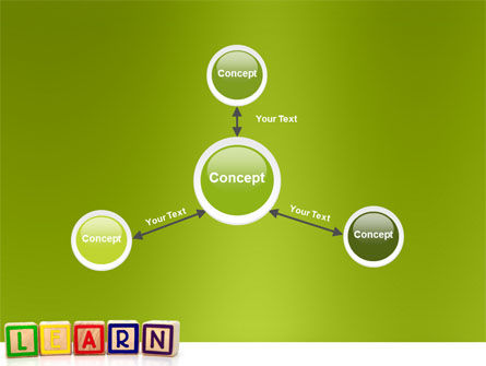 Learning Cubes PowerPoint Template Slide 14