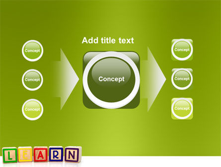 Learning Cubes PowerPoint Template Slide 17