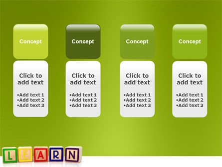 Learning Cubes PowerPoint Template Slide 5