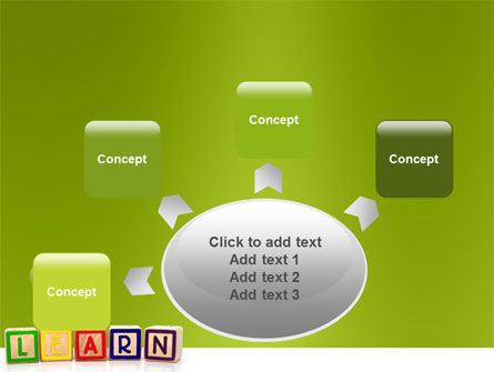 Learning Cubes PowerPoint Template Slide 7