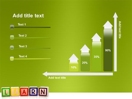 Learning Cubes PowerPoint Template Slide 8