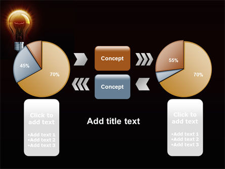 Light Bulb PowerPoint Template Slide 11