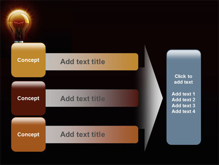 Light Bulb PowerPoint Template Slide 12