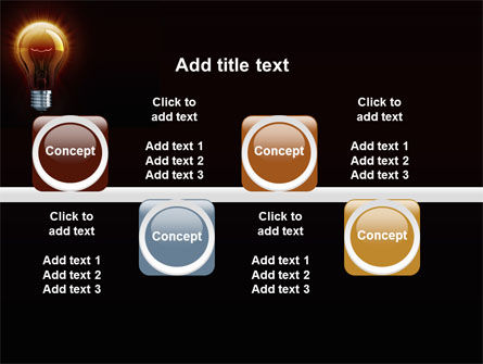 Light Bulb PowerPoint Template Slide 19