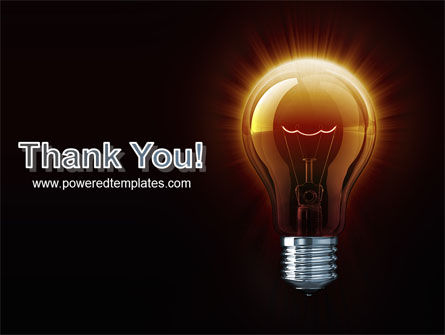 Light Bulb PowerPoint Template Slide 20