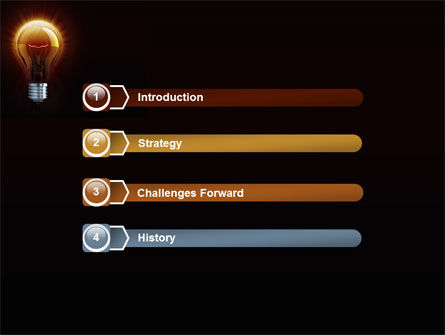 Light Bulb PowerPoint Template Slide 3