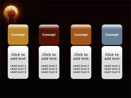 Light Bulb PowerPoint Template Slide 5