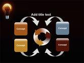 Light Bulb PowerPoint Template#6