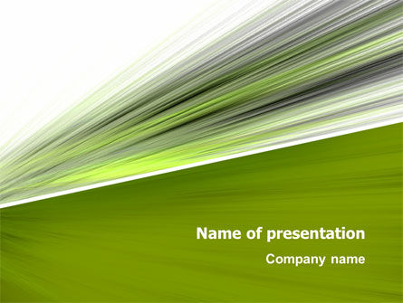 Abstract/Textures: Speed PowerPoint Template #03219