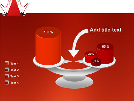 Red Carpet Path PowerPoint Template Slide 10