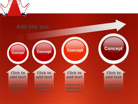 Red Carpet Path PowerPoint Template Slide 13