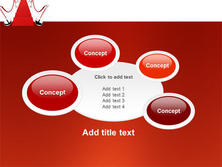 Red Carpet Path PowerPoint Template Slide 16