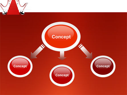 Red Carpet Path PowerPoint Template, Slide 4, 03221, Careers/Industry — PoweredTemplate.com