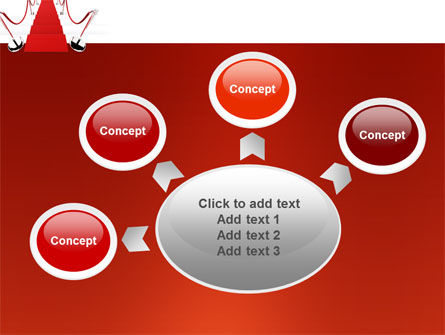 Red Carpet Path PowerPoint Template Slide 7
