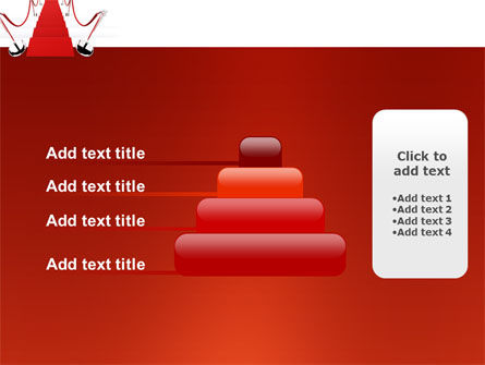 Red Carpet Path PowerPoint Template Slide 8