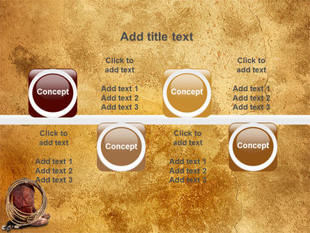 Cowboy Boots PowerPoint Template Slide 18
