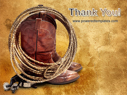 Cowboy Boots PowerPoint Template Slide 20