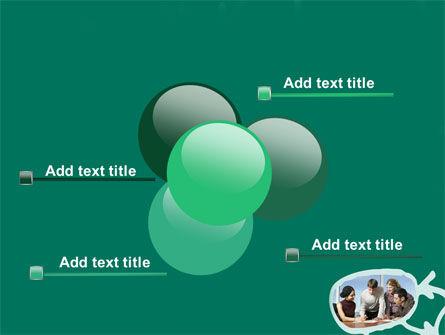 Scheme Of Team Work PowerPoint Template Slide 10