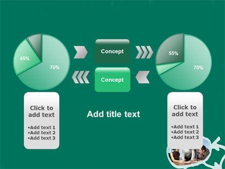 Scheme Of Team Work PowerPoint Template Slide 11