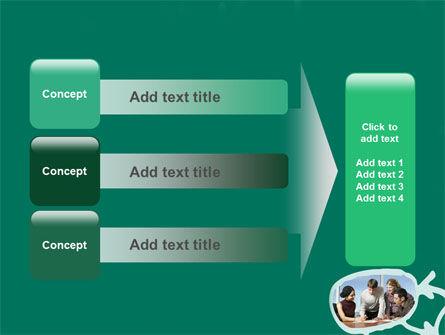 Scheme Of Team Work PowerPoint Template Slide 12