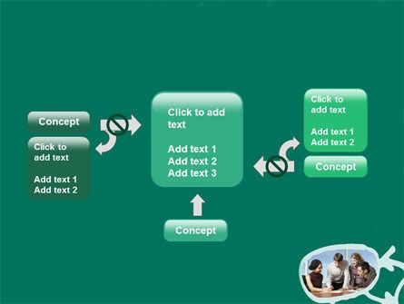 Scheme Of Team Work PowerPoint Template Slide 13