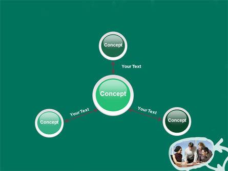 Scheme Of Team Work PowerPoint Template Slide 14