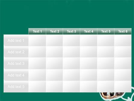Scheme Of Team Work PowerPoint Template Slide 15