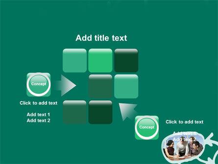 Scheme Of Team Work PowerPoint Template Slide 16
