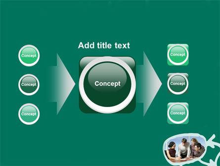 Scheme Of Team Work PowerPoint Template Slide 17