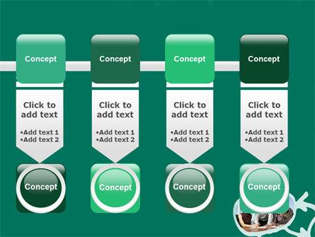 Scheme Of Team Work PowerPoint Template Slide 18