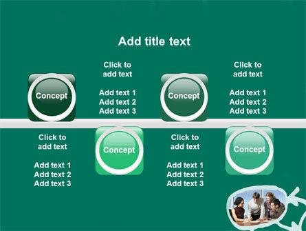 Scheme Of Team Work PowerPoint Template Slide 19
