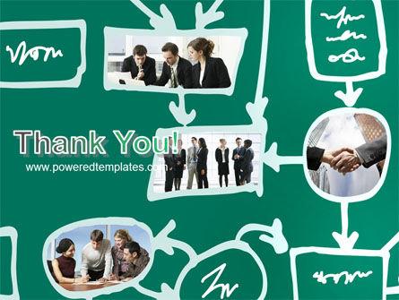 Scheme Of Team Work PowerPoint Template Slide 20