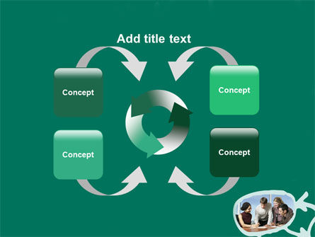 Scheme Of Team Work PowerPoint Template Slide 6