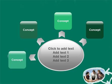 Scheme Of Team Work PowerPoint Template Slide 7