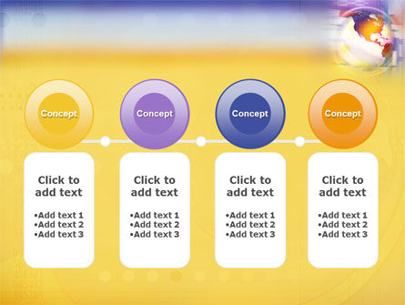 Info Sphere PowerPoint Template Slide 5